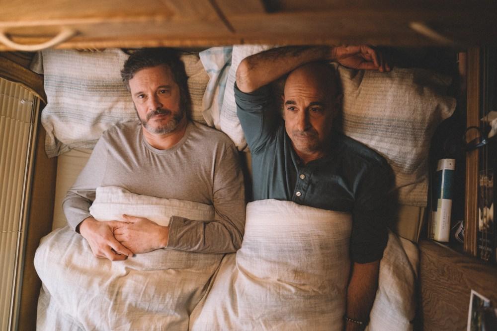 Fremragende skuespil fra Firth og Tucci som et par, ramt af tidlig demens (Billede: Studiocanal)