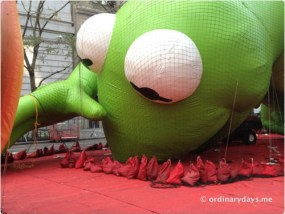 Kermit blowing up