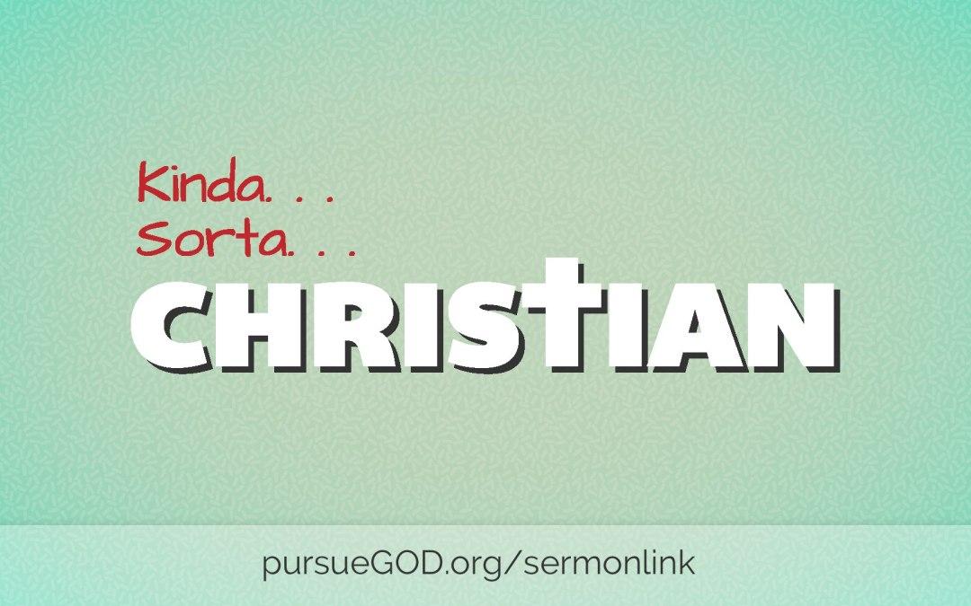 KindaSorta Christian… I Don't Trust God Fully