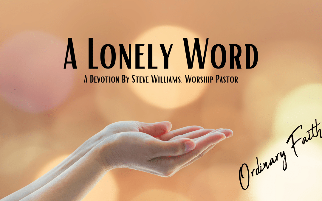 A Lonely Word