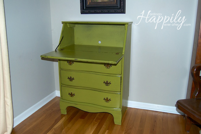 Secretary Desk Makeover