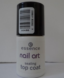 Essence Nail Art Sealing Top Coat.
