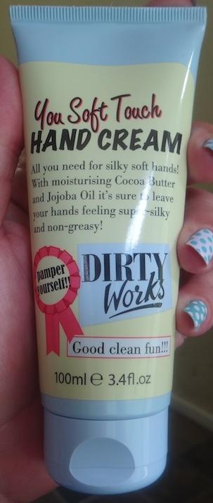 Dirty Works Hand cream