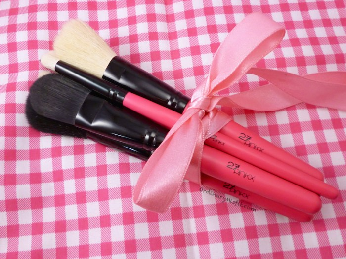 27Pinkx makeup brushes