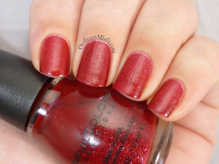 Sinful Colors - Ruby glisten 2