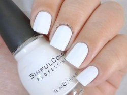 Sinful Colors - Snow me white