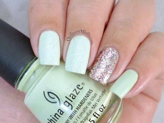 Minty glitter 2