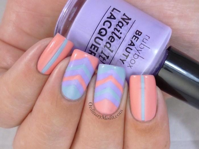 RubyBox summer nail art