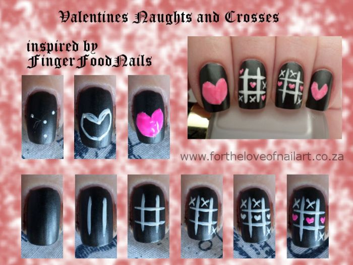 Valentine's naughts and crosses