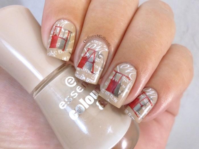 Nail Anarchy February tainted love nail art 3
