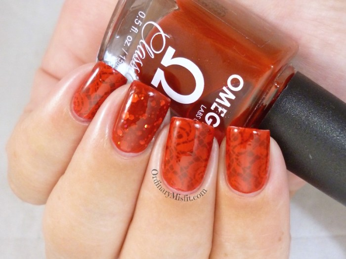 Omega - Crimson Rose with art 3