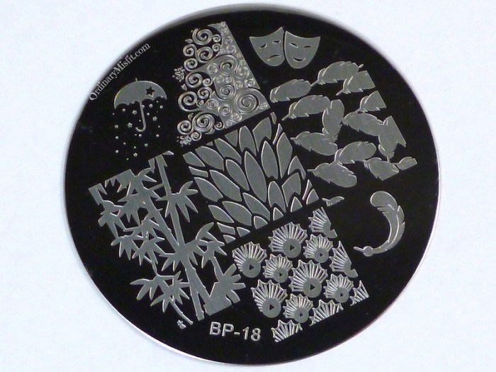 Born Pretty Store plate BP-18 2