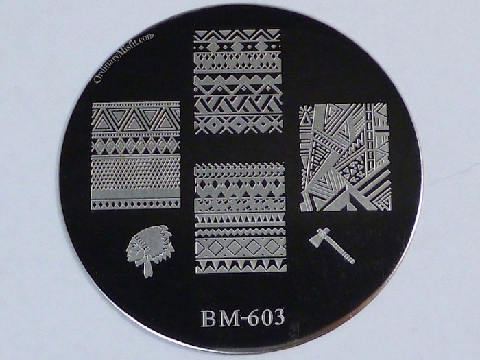 Bundle Monster 'Create Your Own' 2014 stamping plates BM603