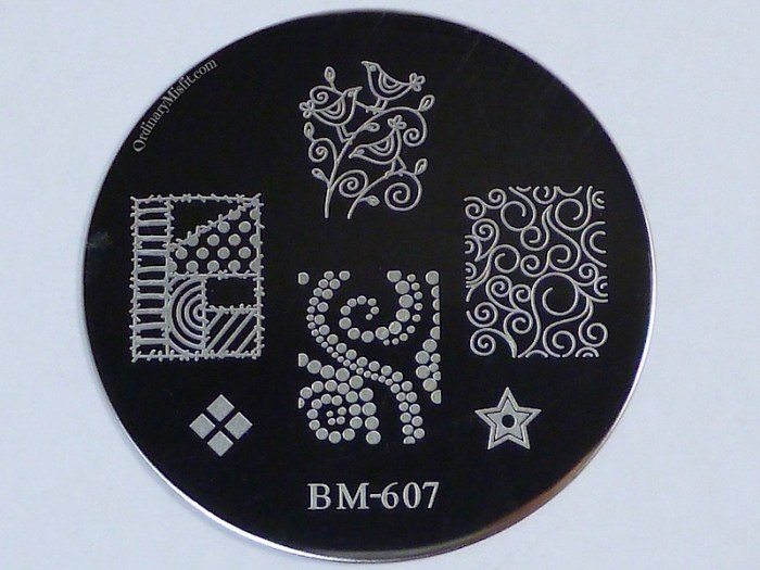 Bundle Monster 'Create Your Own' 2014 stamping plates BM607