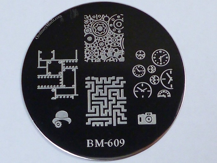 Bundle Monster 'Create Your Own' 2014 stamping plates BM609