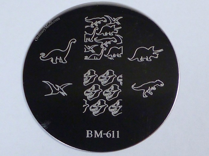 Bundle Monster 'Create Your Own' 2014 stamping plates BM611