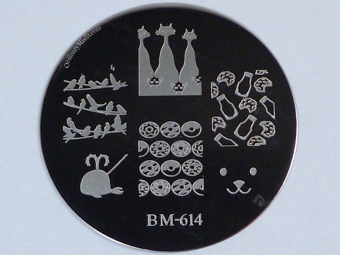 Bundle Monster 'Create Your Own' 2014 stamping plates BM614