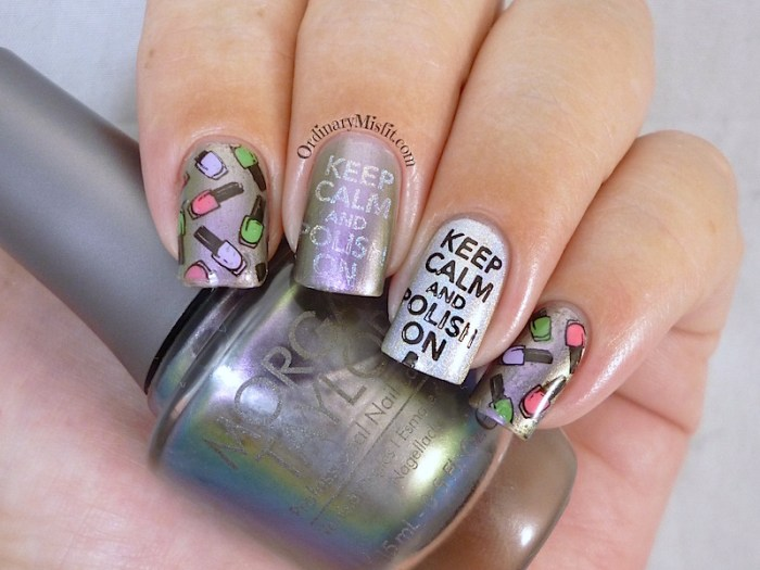 Bundle Monster 'Create Your Own' 2014 stamping plates nail art 3