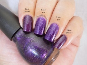 Comparison Sinful Colors - I love you vs Essence - Best dressed