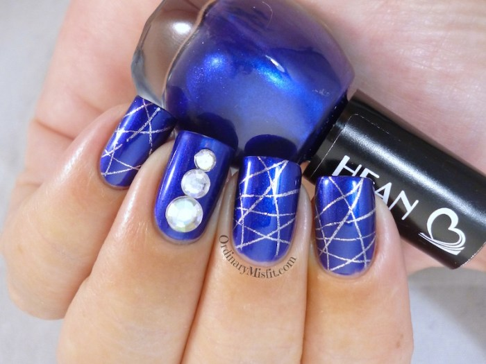 Hean I love Hean collection #466 with nail art  2