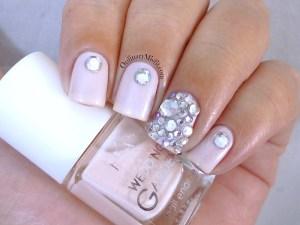 Hean Wedding Garden collection #642 with nail art