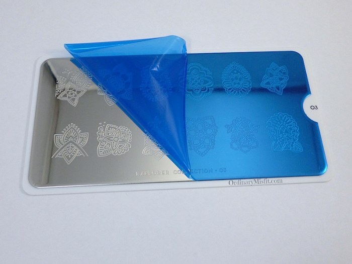 Moyou Stamping plate Explorer 3 film peeled