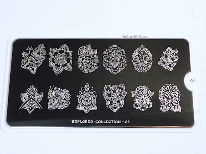Moyou Stamping plate Explorer 3 images