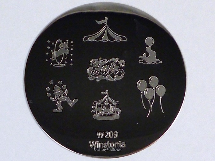 Winstonia stamping plate W209