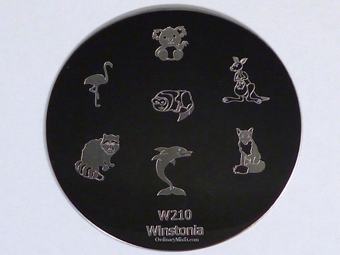 Winstonia stamping plate W210