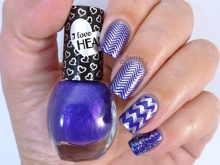 Hean I love Hean Sugar collection #855 with nail art