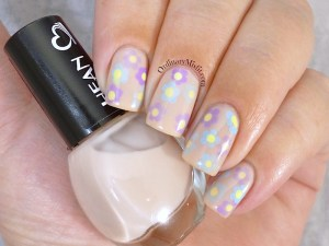 Hean I love Hean collection #407 with nail art