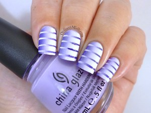 #PPSANailChallenge Purple nail art
