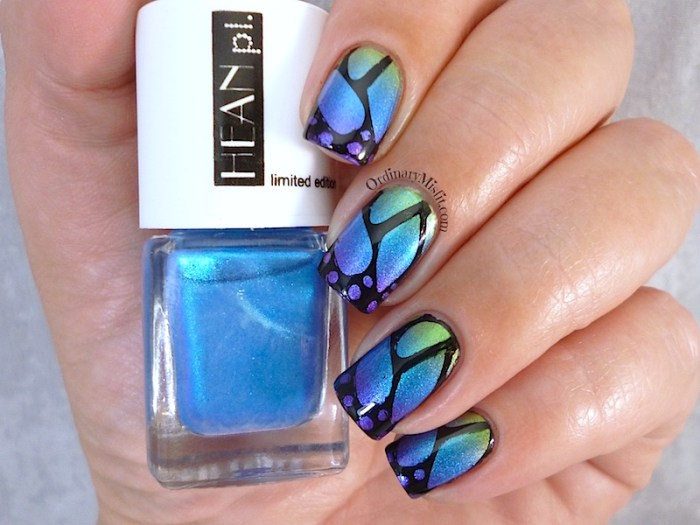 Hean Jungle Pop #276 #278 and #281 with nail art