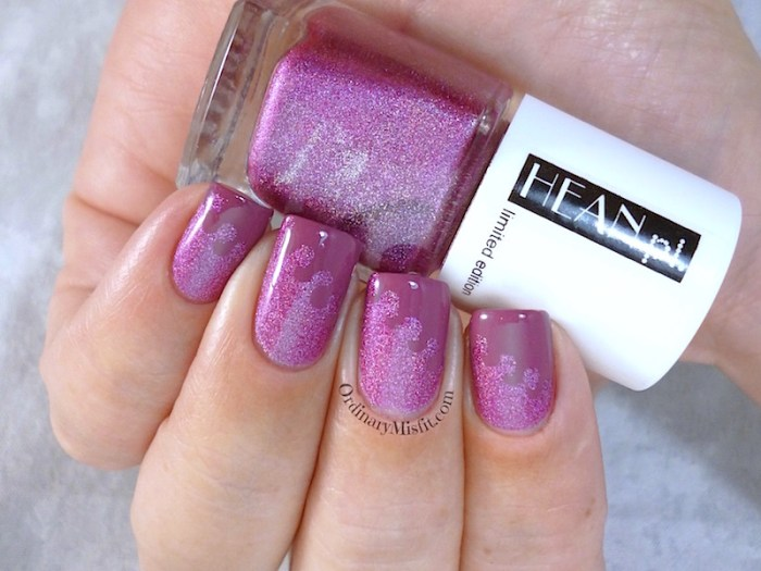 Hean Jungle pop #280 with nail art