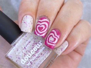 piCture pOlish - Douceur with nail art