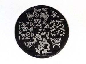 BornPrettyStore stamping plate BP-74