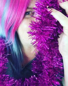 There was even pink tinsel!!! bestSSever
