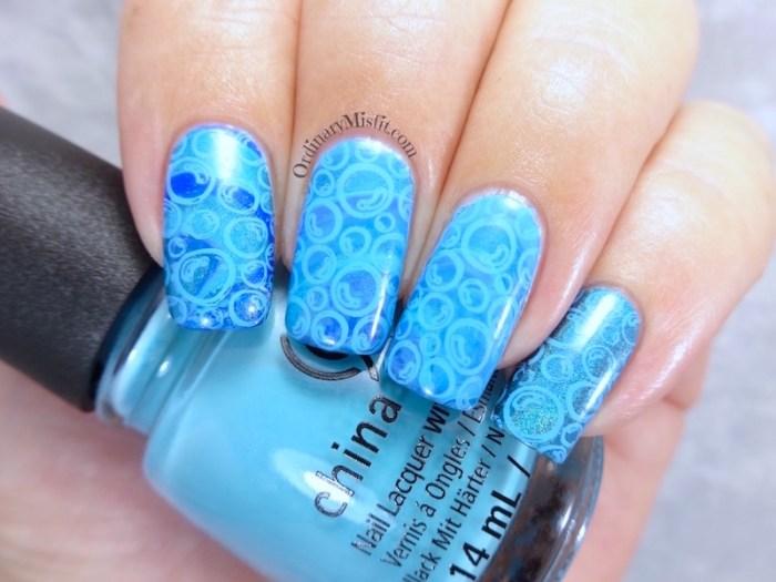 NAILLinkup March - Water inspired nail art