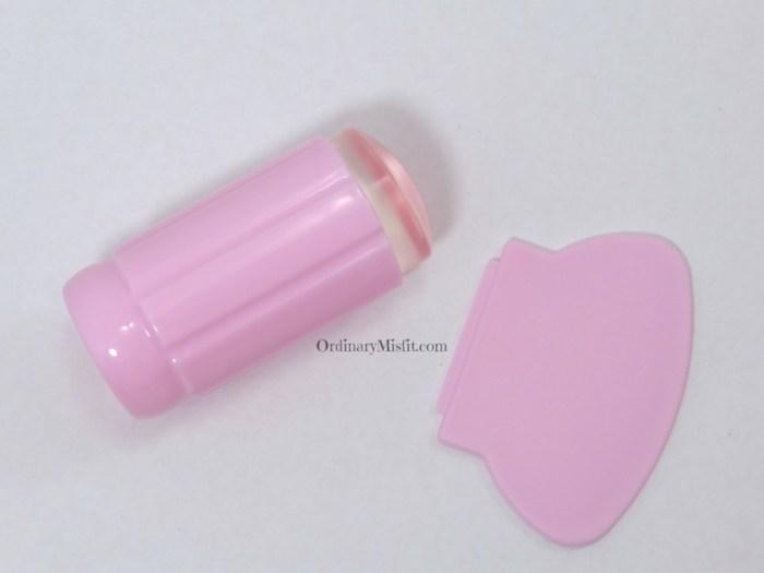 BornPrettyStore Clear stamper pink