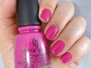 China Glaze - In the near fuchsia
