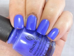 China Glaze - I got a blue attitude