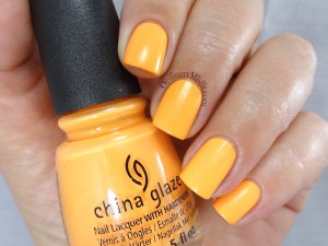 China Glaze - None of your risky business