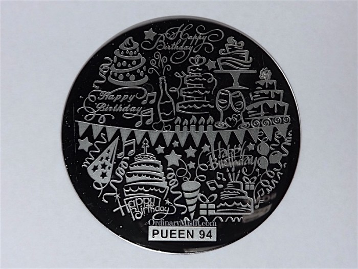 Pueen Buffet leisure stamping plates pueen94