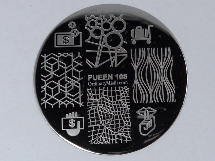 Pueen Make your Day stamping plates pueen108