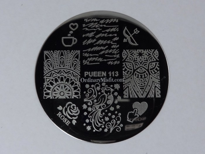 Pueen Make your Day stamping plates pueen113
