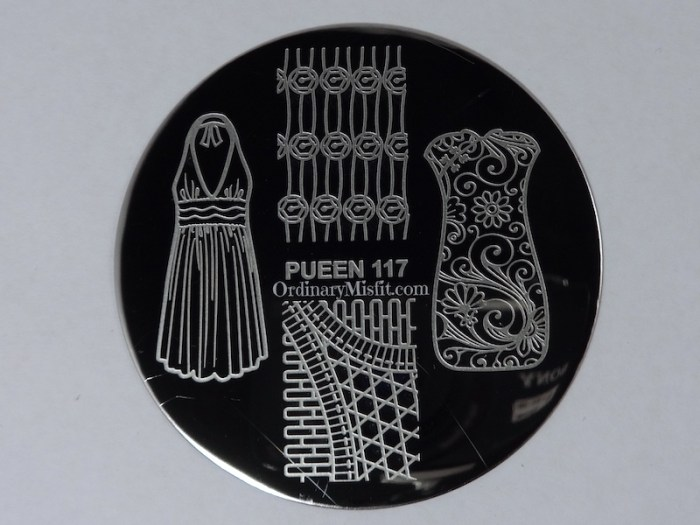 Pueen Make your Day stamping plates pueen117