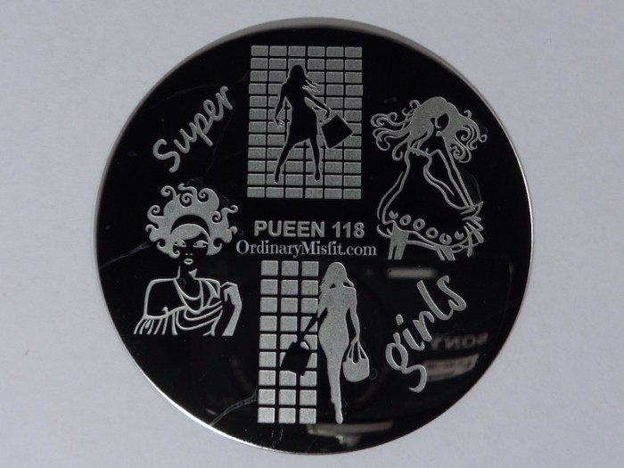 Pueen Make your Day stamping plates pueen118
