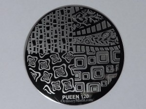 Pueen Make your Day stamping plates pueen120