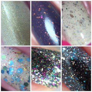 Dollish Polish Epic deaths collection macro collage