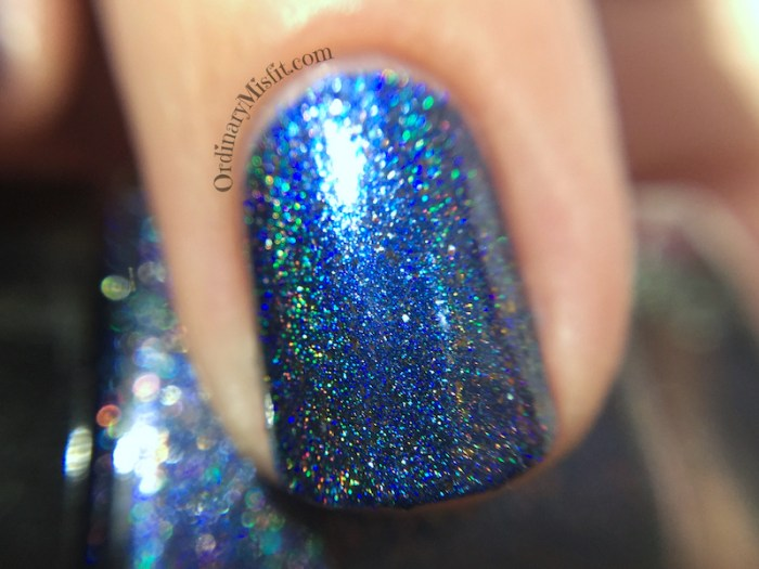 Dollish Polish - Oh, you're so cool Brewster! macro holo